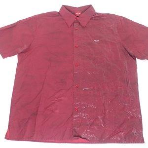 Oakley Swirl Striped Modern Dance/Clubbing Shirt